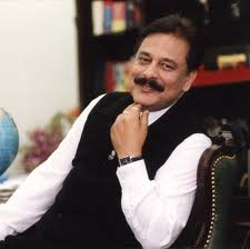 Sahara India group chairman Subrata Roy