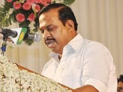 Former Tamil Nadu Minister Agri Krishnamurthy,
