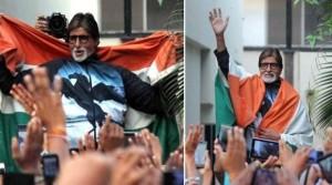 Case against Amitabh, Abhishek over tricolour insult