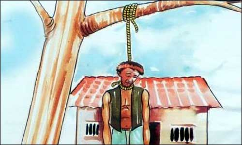 report on farmer suicide In a study of suicide rates by occupation, the workers that killed themselves most often were farmers, lumberjacks and fishermen.