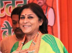 Roopa Ganguly surrenders before court in assault case